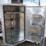 Swing Out Tack Box with Draws and Shelves